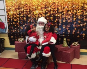 Santa at the Wetherbee on December 1