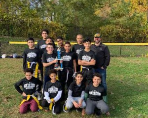 Wetherbee Grades 5&6 Football with Coach Doyle, October 26, 2019