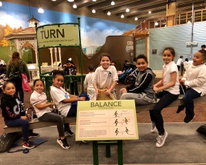children visiting the science museum
