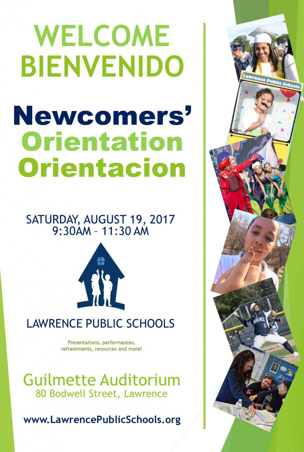 Newcomers Orientation Flyer
