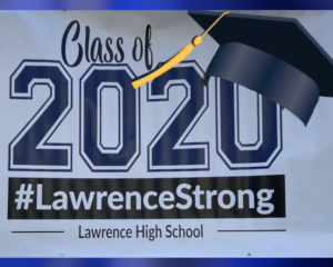 logo for LHS class of 2020 #lawrence strong