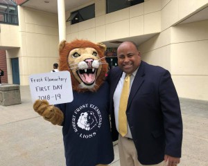 Frost Lion and Mayor Rivera