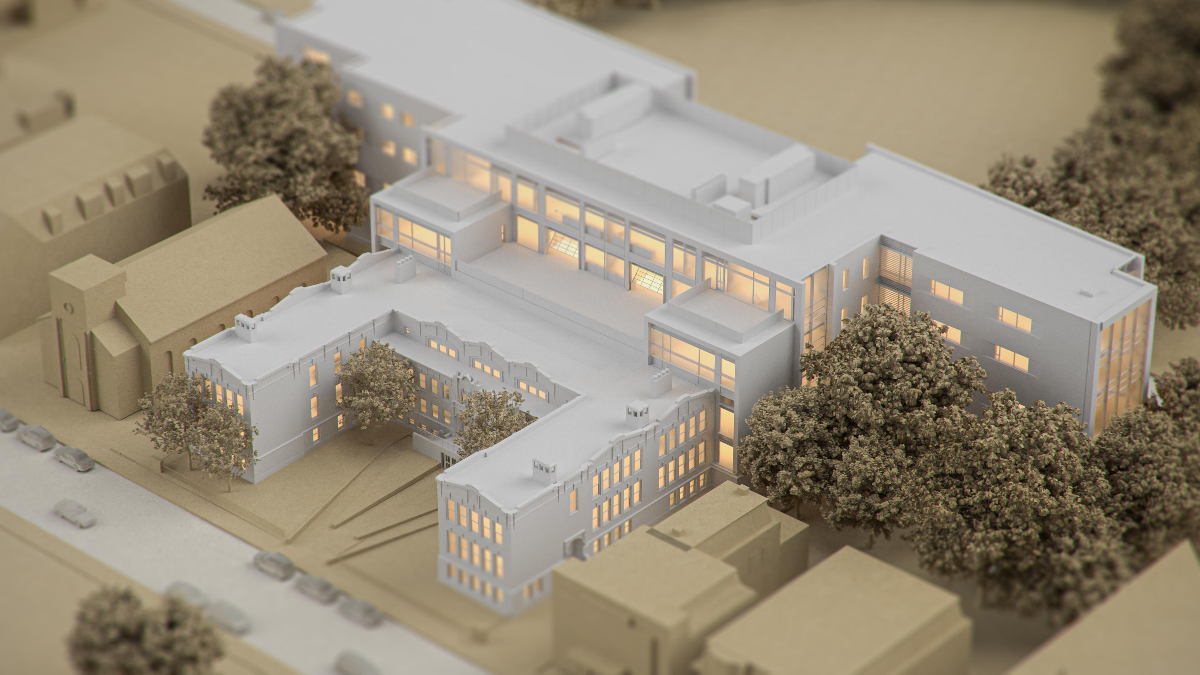 Oliver school building Project header